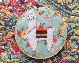 """9"""" Embroidered Hoop"""