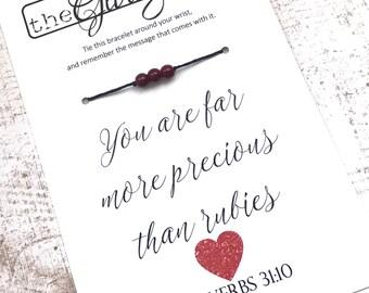 PROVERBS 31:10 Bracelet