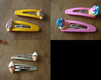 choice 2 pins, clips, ice