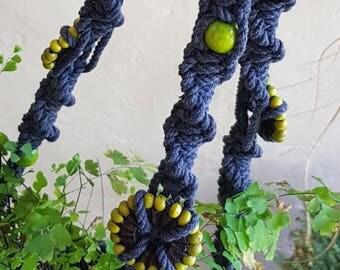 Macrame Plant Hanger / Pot Holder / Garden / Plant