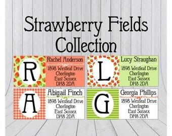 48 x Return address stickers, Address labels, cute address labels, Address Stickers, Custom address stickers 165