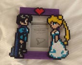 Perler Bead Sailor Moon Picture Frame