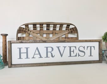 Harvest Sign, Autumn Decor, Seasonal Decorations, Thanksgiving Decor Ideas, Fall Signs, Farmhouse Style, Rustic Fall Decor