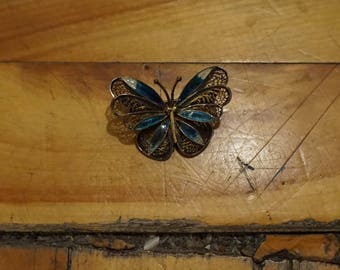 Nice Butterfly vintage brooch