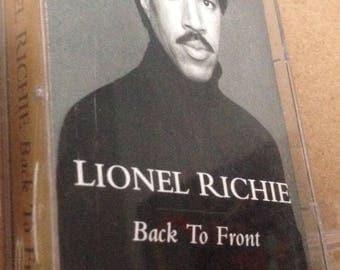 Lionel Richie - Back to Front vintage audio cassette tape