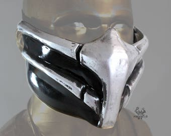Smoke Mortal Kombat 9 Mask Replica Forjadict3d. Fan Art.