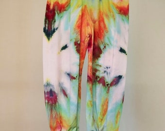 25% OFF ENTIRE SHOP Baby Tie Dyed Rayon Harem Pants - Size 0 - Cotton - Girls - Boho - Boy - Beach - Gypsy - Free Shipping within Aus