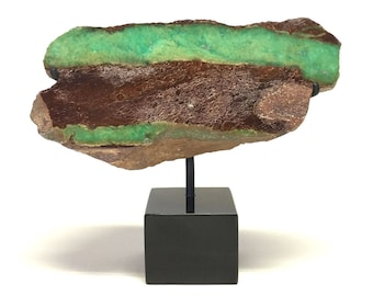 Chrysoprase, Green Calcedony, Mineral, Gem, Rock, fossil