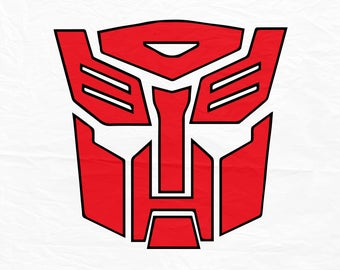 Transformers Logo, Mask, Cutout, Vector art, Cricut, Silhouette Cameo, die cut, instant download, Digital Cut, Print Files, Ai, Pdf, Svg