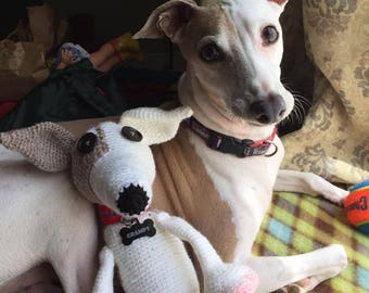 Crochet Greyhound Dog