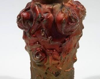 Antique Goofus Glass Vase