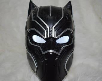 Black Panther Helmet Cosplay Mask