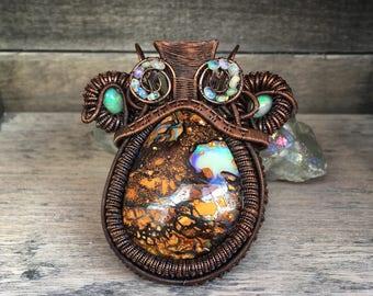 Queen of Opals pendant