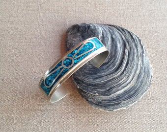 Vintage Mexican cuff bangle