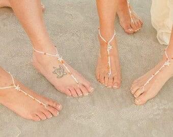 Soleless Sandals