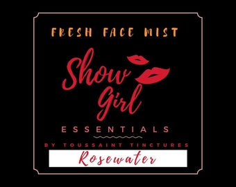 FRESH  Rosewater | Rose Hydrosol | Facial Mist | Vegan | Natural | Organic |  Brooklyn Made