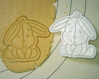 Eeyore Cookie Cutter and Stamp
