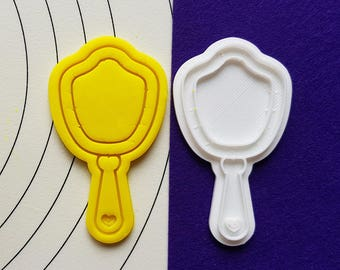 Mirror Cookie Cutter and Stamp