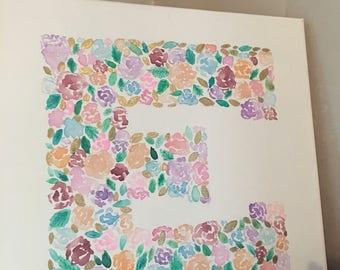 Watercolor Letter