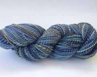 Hand Spun Yarn - Bluefaced Leicester - DK / Light Worsted 2-ply