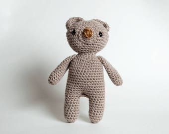 Crochet Bear Pattern, Bear Tutorial, Doll Tutorial, Amigurumi Pattern, Crochet Bear, Teddy Bear Pattern, Crochet Toy Pattern, Stuffed Animal