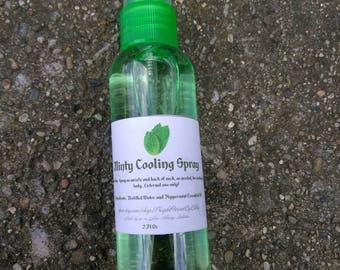 Minty Cooling Spray