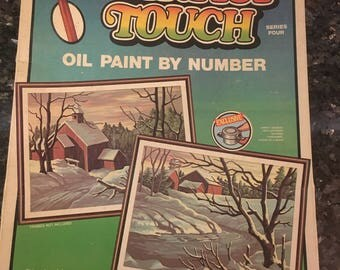 Vintage Unopened Paint by Number Set--Still in Box!