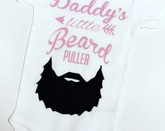 Daddys little beard puller