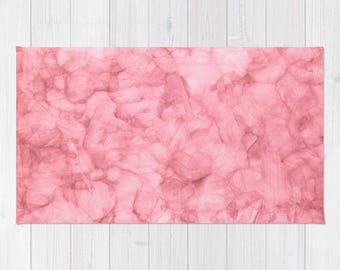 Pink Rug | Etsy