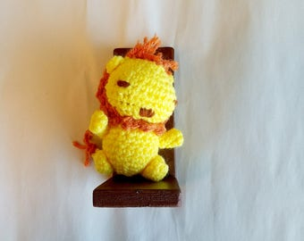 Amigurumi Cowardly Lion of the Wizard of Oz