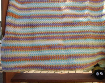 Simply Sweet Crocheted Baby Blanket