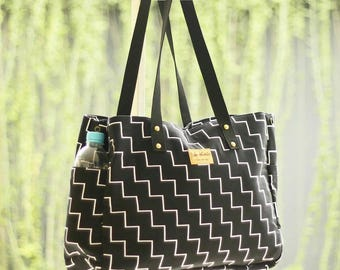 Benaiah Canvas Tote Bag (L)