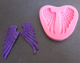 Wings silicone mold