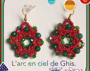 Christmas Special earrings.