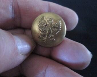 1920s Polish Military Army Button Original Vintage