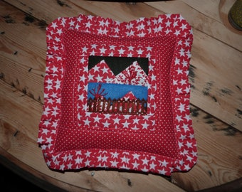 A Christmas cushion
