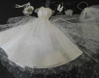 Vintage Barbie Wedding Day Set 0972 (1959-1962)