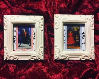 Framed Beetlejuice ans Lydia set