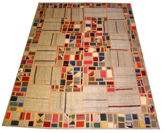 Persian Patchwork Kilim Rug PRH105, 173x241