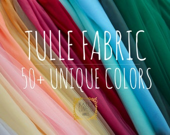 Soft Luxury Tulle Fabric, Wedding Tulle Material, Wholesale Tutu Fabric, Tulle Fabric by the yard for Tutus - 3m width