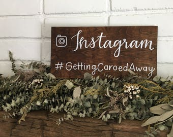 Instagram Hashtag Sign