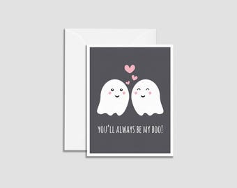 You'll Always Be My Boo Ghost Love Cards