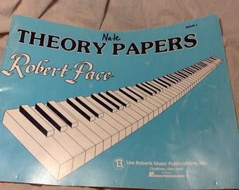 Vintage Beginners Piano Book