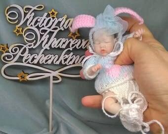 dolls made of polyurethane 5 in by Victoria Vihareva-Pechenkina