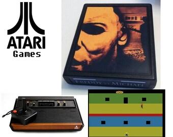 Freddy vs Michael - Atari 2600/7800 Video Game Cartridge