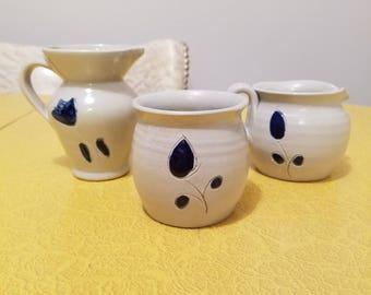 Williamsburg Pottery Salt Glaze Stoneware