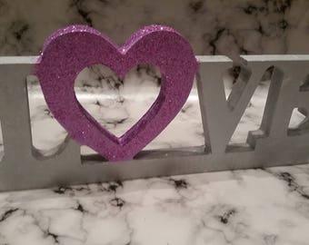 Love Sign Freestanding