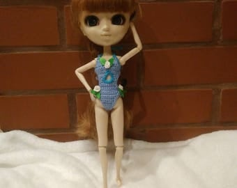 Swimsuit for Pullip doll Stock, Obitsu 27 hard, Obitsu 27 soft
