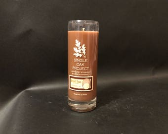 Buffalo Trace 375ML Single Oak Project Bourbon Whiskey Soy Candle. Made To Order !!!!!!!!