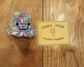 Mini Ice Cream Amigurumi